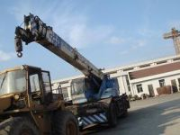 Sell kato 25ton rough terrain crane(used truck crane)