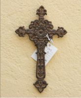 Sell wrought iron-metal cross qy7009