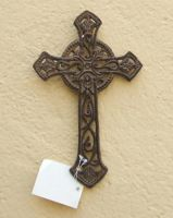 Sell wrought iron-metal cross qy7010