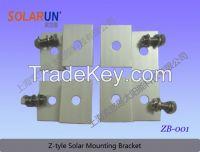 Sell Z bracket solar mounting
