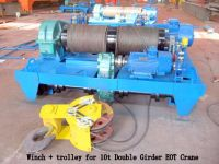 Sell Double girder winch trolley