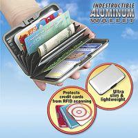 indestructible aluminum wallet