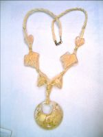 Sell fasion rosin necklace