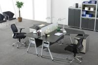 modern two seater office workstation furniture, #NT-22