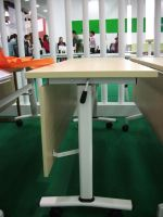 movable foldable training table with castors, #NT-39