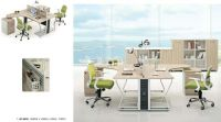 modern two person office desk workstation office furniture factory, #JO-6005