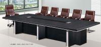 modern black conference table, #JO-3003B