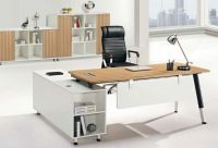 modern L type office manager table furniture, #JO-6061
