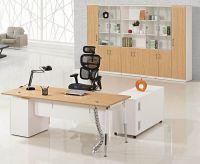 modern office melamine manager desk furniture factory, #Z0903