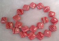 Sell red banded agate jewelry(MH-S016)