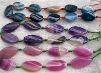 Sell colorized banded agate jewelry(MH-S012)