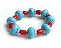 Sell turquoise bracelet, bangle(MH-W089)