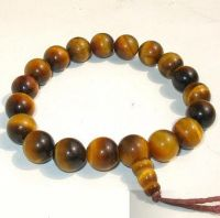 Sell yellow tiger's eye stone bracelet(MH-W095)