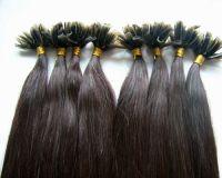Sell keratin pre tip hair extension hair weft