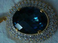 Gemstone Pendant (Handmade)