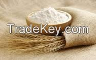 Wheat flour.