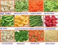 Sell Frozen Fruits & Vegetables