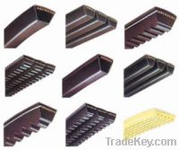 Sell V-belt, conveyor belt
