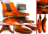 Customized chelsea boots