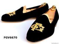 customized velvet slippers