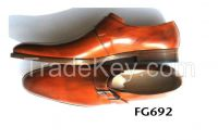 Dark brown monk shoe