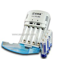 Combo Charger+4pcs of AA 1.2V 2500 mAh Ni-mh Rechargeable Battery