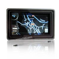 Sell 4.8'' HD Touch Screen LCD GPS Navigator with FM, MP3/MP4 Player
