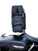 Corbin Motorcycle Seat Luggage Bracket and Backrest Combination