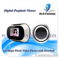 Sell 3.0 Mega Pixels Video Phone with Doorbell
