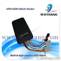 Sell Quad-band Vehicle/Car GPS Tracker with Cut off fuel and web-based