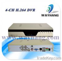 Sell 4CH H.264 Real Time Network Security CCTV DVR