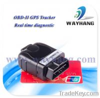Sell OBD-II GPS car tracker with real-time diagnostic