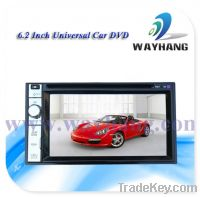 Sell 6.2 inch universal Car DVD With front USB