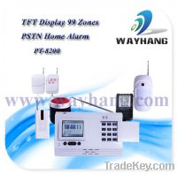 Sell PSTN Network Home Burglar Alarm with Contact ID function