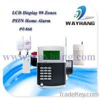 Sell PSTN Wireless Burglar Alarm System with 99 Wireless Zones