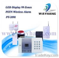 Sell 99 Zones PSTN Wireless Intelligent Security Alarm System