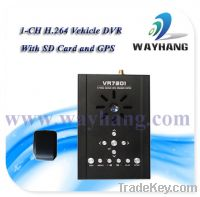 Sell 1 CH SD Card Mobile DVR with GPS