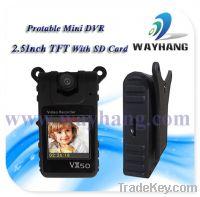 "Sell 1.5"" TFT Portable SD Card DVR"