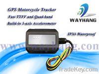Sell waterprooof GPS motorcycle tracker