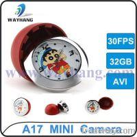 Sell Multi-Function Clock Mini DVR Camera V17 built-in 4GB memory