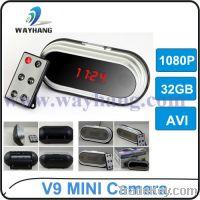 Sell Perfect Style 30PCS V9 HD 1920x1080 30fps  Hidden Clock Camea
