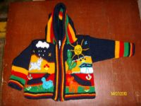 CARDIGANS FOR BOYS WITH DECORATIVE APPLICATIONS