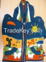 Children zipper cardigans