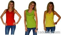 Sell Red Cable Laced Womens size Sleeveless Top