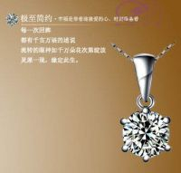 Sell platinum silver necklace pendants