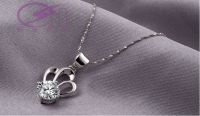 Sell Imperial crown shape fashion jewelry, silver plated platinum