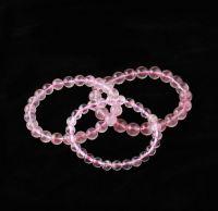 Sell crystal bracelets, pink beaded bracelet
