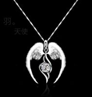 Sell fashion necklace pendants with silver
