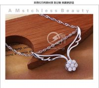 Sell silver necklace pendants  women style jewelry
