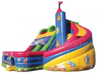 Inflatable Fortress Slide